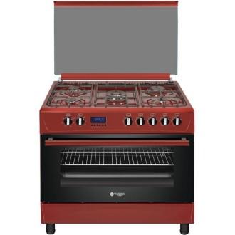 WIGGO WO-E909R - De Elektrische multifunctionele oven